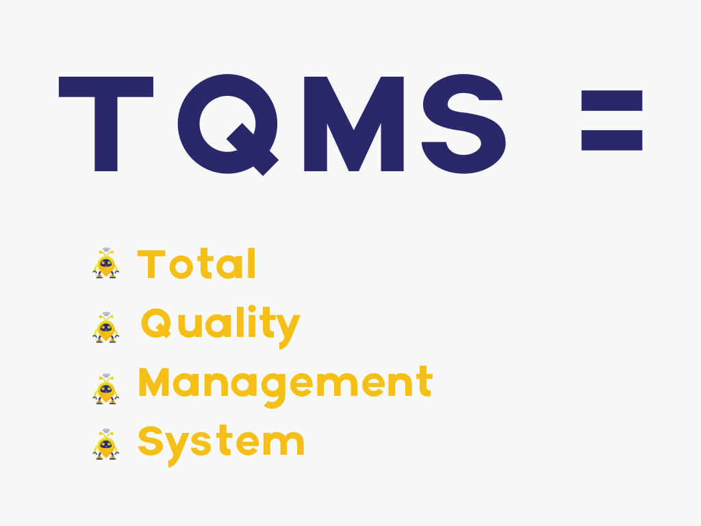 total quality management system with project management skills