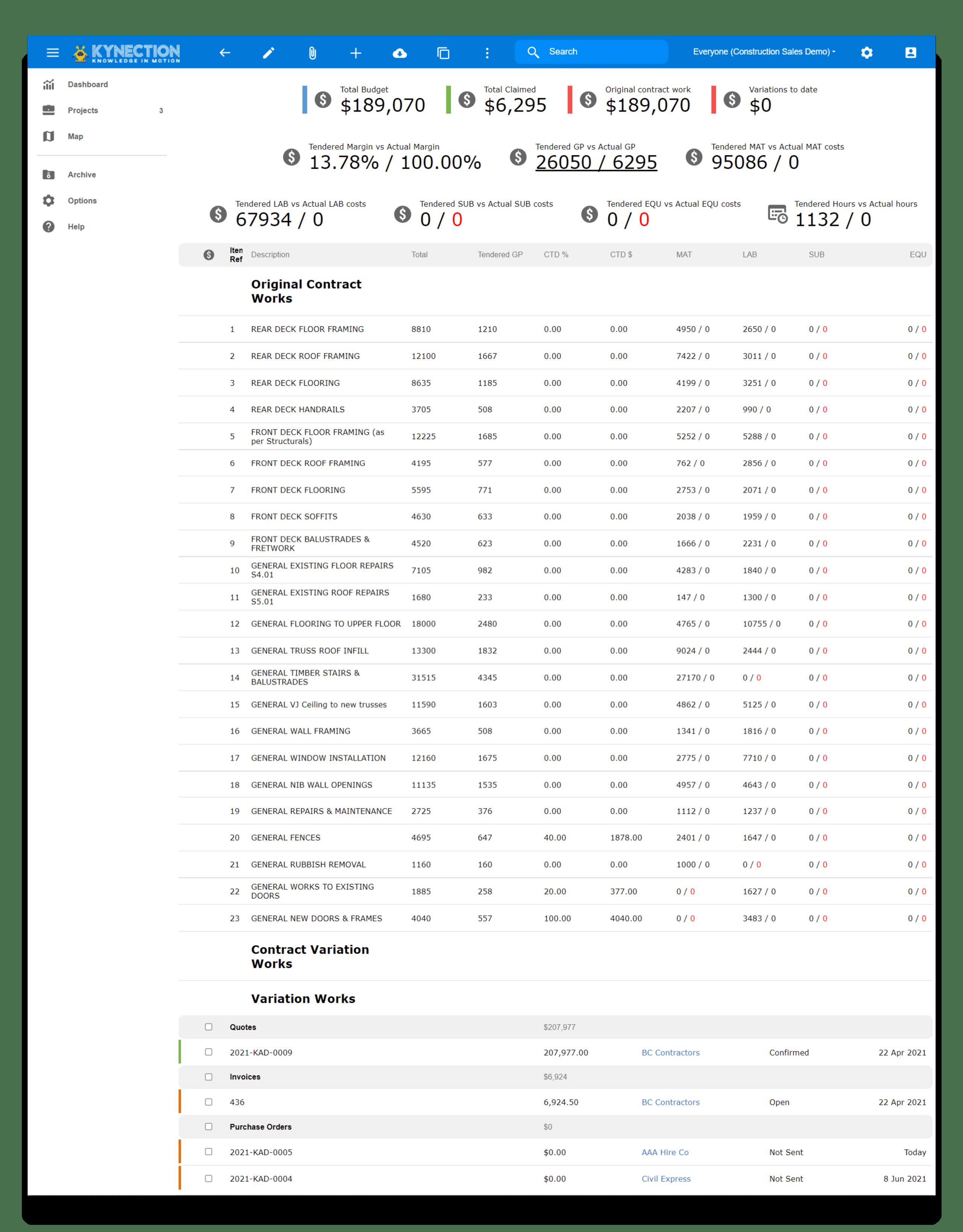 Construction Finances